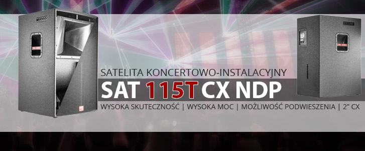 SAT 115T CX NDP - HIGH OUTPUT SATELLITE